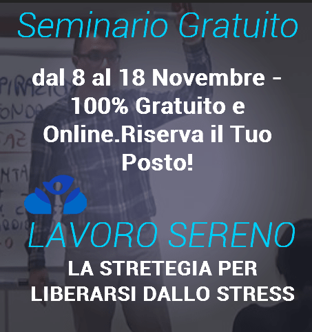 coaching ridurre lo stress